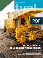 Tecnologìa de colocaciòn y renovaciòn de balasto