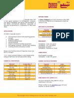 Aluminium Alloy 3003 Data Sheet
