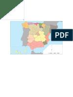 Primaria Mapa Mudo Politico España