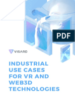 VR & Web3D Use Cases for Industrial Companies