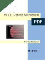 Ue 12 Optique Geometrique