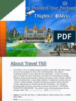 7 Night Hong Kong with Thailand Tour Package Rs 29K- Hong Kong  Thailand Holiday Trip Travel Titli
