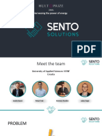 Smart Energy Token project - Sento Solutions Dubai presentation