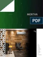 Catalogo Mentha 2018