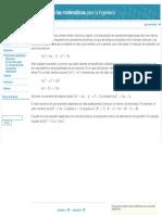 expresiones algebra
