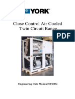 York Close Control Air Cooled Twin Circuit Range