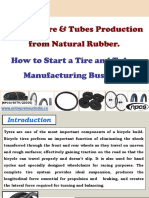 Bicycle Tyre & Tubes Production from Natural Rubber
