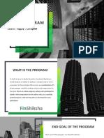 FinShiksha Analyst Program 2019