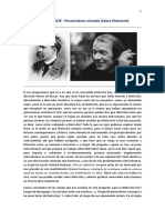 1 Pensamiento Nómada - Sobre Nietzsche - G. Deleuze