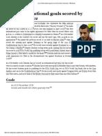 List of International Goals Scored by Alexis Sánchez - Wikipedia