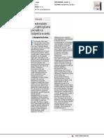 Lo scienziato che ogni giorno prendeva i figli a scuola - Il Corriere della Sera del 10 gennaio 2019