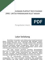 Hukum Penggunaan Platelet Rich Plasma (Prp)