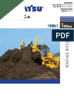 Bulldozer D155AX 6