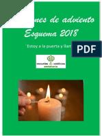 Esquema Oraciones Adviento 2018 Eecc Andalucia