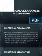 Electrical Clearances