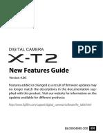 Fujifilm Xt2 Manual
