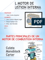 El Motor de Combustion Interna