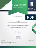 Certificate Marketing in a Digital World - Learning7 INSEEC U
