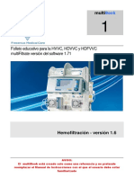 Guía Rápida Manual Hemofiltro Fresenius