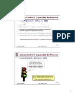 Cartas Control y Capacidad Del Proceso