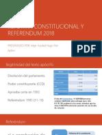 V-1 Abog Yussbel Pari Ayllon - Reforma Constitucional y Referendum 2018