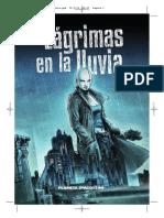 Lagrimas en La Lluvia Comic Rosa Montero