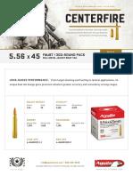 Aguila Ammunition Bulk 5.56 X 45