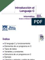 T01-Introduccion Lenguaje C