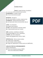 Portugues - outras dificuldades comuns da língua Portuguesa