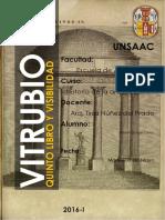 Vitrubio y Visibiliadad