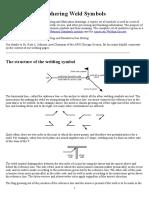 Deciphering Weld Symbols