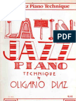 Latin Jazz Piano Technique