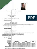 Europass CV Tamara.keverkamp