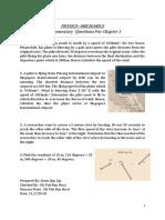 Physics Supplementary Questions ( Vectors) A-LEVEL/ STPM/ UEC