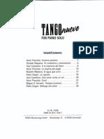Tango Nuevo for Piano Solo