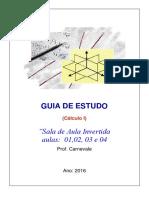 Guia de Estudo - Cálculo i _unisuam 2016-1