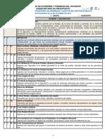 clasificador de cuentas del sector publico ecuador