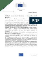 Eu - Memo - Commitments Antitrust