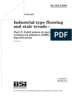 [BS 4592-5-2006] -- Industrial Type Flooring and Stair Treads. Solid Plates in Metal and Glass r