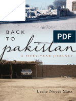 Leslie Noyes Mass-Back to Pakistan_ a Fifty-Year Journey -Rowman & Littlefield Publishers, Inc. (2011)