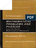 Mathematical Problems and Puzzles from the Polish Mathematical Olympiads - Straszewicz (1965).pdf