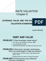 Ch6leverageand Value