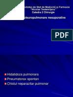 6.Afectinile Pleuro-pulmonare Nesupurative