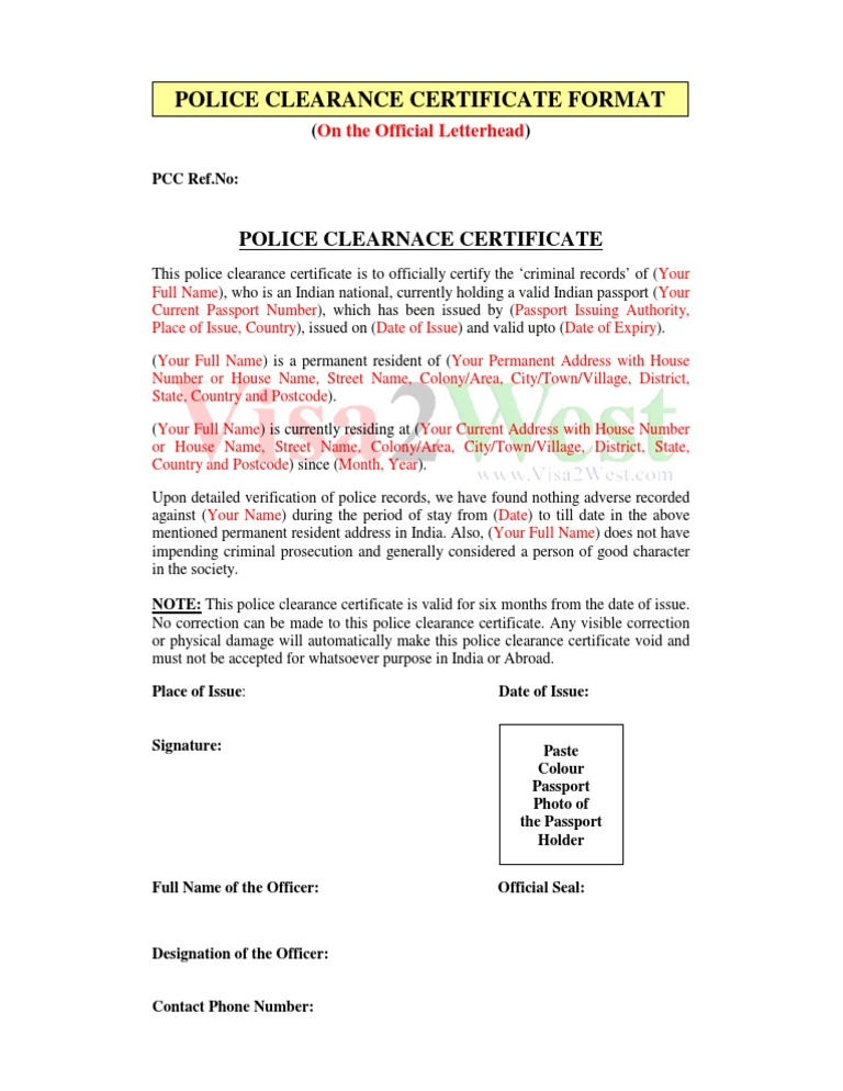 Sample certificate of house acceptance image collections sample certificate of house acceptance gallery certificate pcc format sample certificates yadclub image collections yadclub Choice Image
