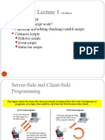 8 Javascript 1 Basics