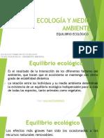 Diapositivas 8. Equilibrio ecológico