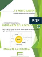 Diapositivas 3. Ecología de poblaciones y comunidades