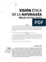 vision etica de la naturaleza