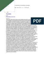 Efecto de La Adición de Nanosílice en Cementos y Concretos