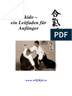 Aikido-ein Leitfaden Fuer Anfaenger